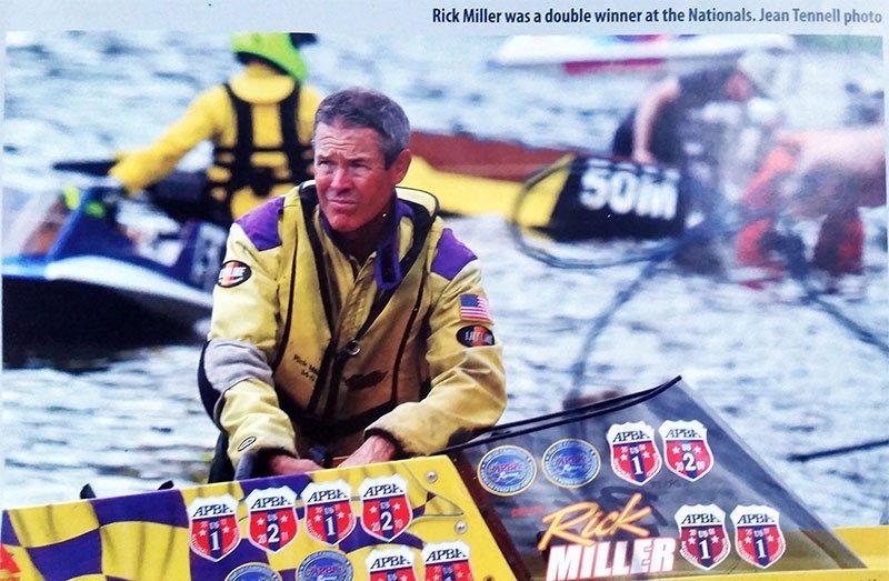 Rick Miller, 2018 NBRA High Point Winner